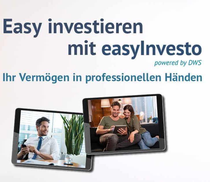 easyInvesto Onlinevermögensverwaltung